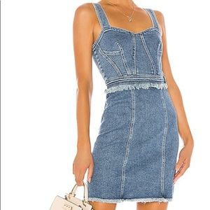 7 For All Mankind Fray Dress in Vintage Muse